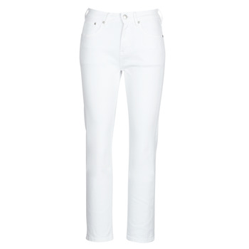Clothing Women straight jeans Pepe jeans MARY White