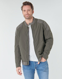 Clothing Men Jackets Pepe jeans AIGLE Kaki