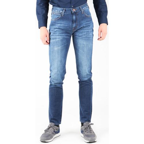 Clothing Men Slim jeans Lee Arvin L732ASJO navy
