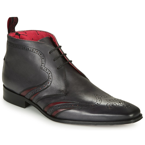 Shoes Men Mid boots Jeffery-West SCARFACE  black / Red