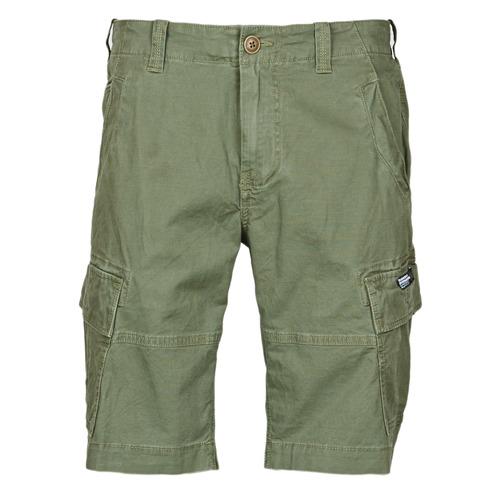 Clothing Men Shorts / Bermudas Superdry CORE CARGO SHORTS Olive