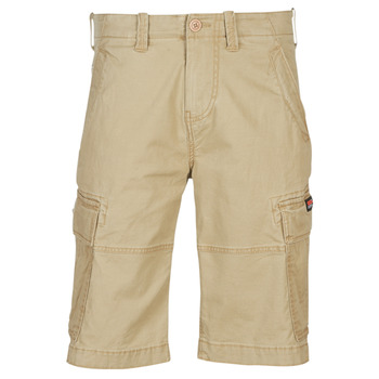 Clothing Men Shorts / Bermudas Superdry CORE CARGO SHORTS Beige