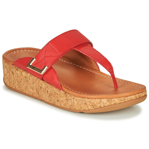 Shoes Women Sandals FitFlop REMI Red