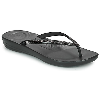 Shoes Women Flip flops FitFlop IQUSHION  black