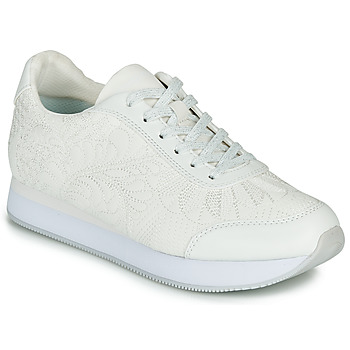 Shoes Women Low top trainers Desigual GALAXY LOTTIE White