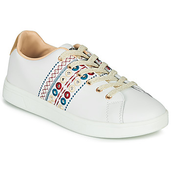 Shoes Women Low top trainers Desigual COSMIC NEW EXOTIC White