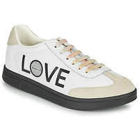 Shoes Women Low top trainers Desigual COSMIC LETTERING White
