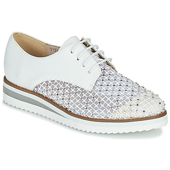 Shoes Women Derby Shoes Metamorf'Ose GABARET White