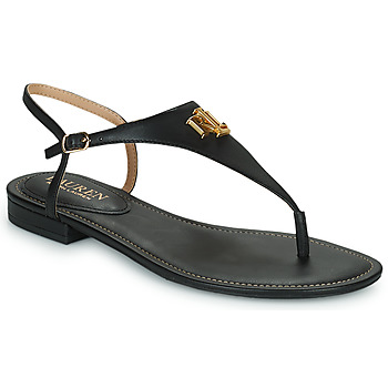 Shoes Women Sandals Lauren Ralph Lauren ELLINGTON SANDALS CASUAL Black
