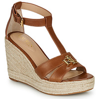 Shoes Women Sandals Lauren Ralph Lauren HALE ESPADRILLES CASUAL Cognac
