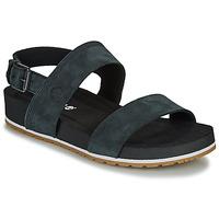 Shoes Women Sandals Timberland MALIBU WAVES 2BAND SANDAL Black