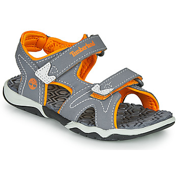 Shoes Children Sandals Timberland Adventure Seeker 2 Strap Grey / Orange