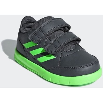 Shoes Children Low top trainers adidas Originals Altasport CF I Graphite