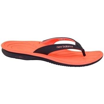 Shoes Women Flip flops New Balance 6091 Black, Orange