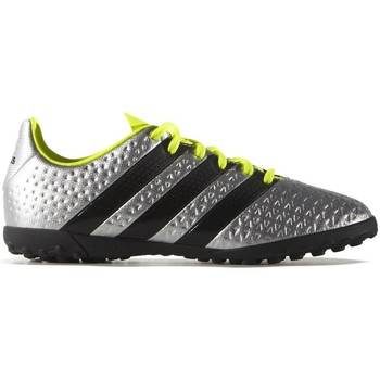 Shoes Children Football shoes adidas Originals Ace 164 TF J Black,Green,Silver