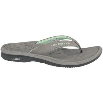 Shoes Women Flip flops New Balance Womens Cush Thong Green