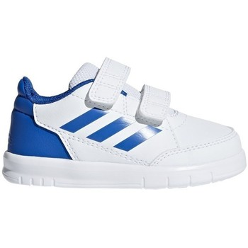 Shoes Boy Low top trainers adidas Originals Altasport CF I White