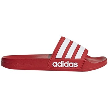 Shoes Men Tap-dancing adidas Originals Adilette Shower Red