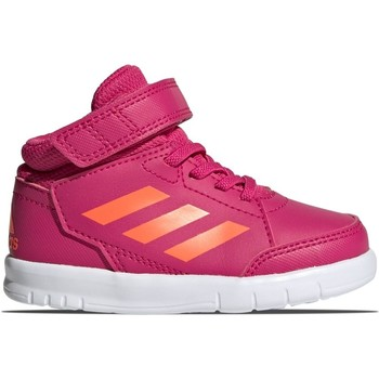 Shoes Children Hi top trainers adidas Originals Altasport Mid EL I Pink