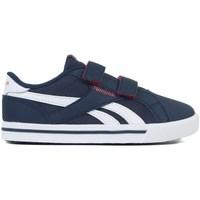 Shoes Boy Low top trainers Reebok Sport Royal Comp 2L Alt White,Light blue,Navy blue