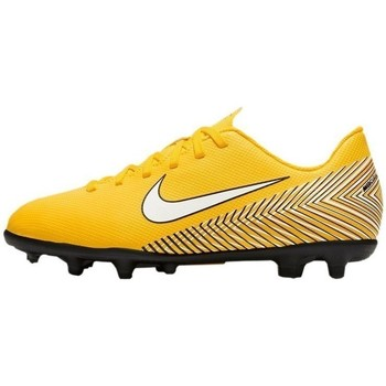 Shoes Children Football shoes Nike Mercurial Vapor 12 Club Neymar MG JR Yellow
