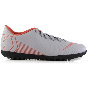 Shoes Children Football shoes Nike Vapor Club TF Grey