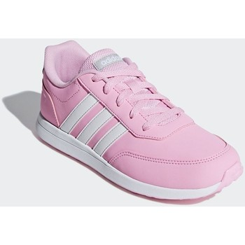 Shoes Children Low top trainers adidas Originals VS Switch 2 K Pink