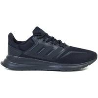 Shoes Children Running shoes adidas Originals Runfalcon K Black