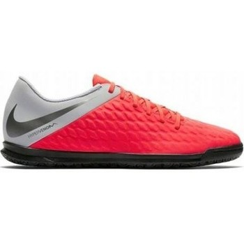 Shoes Children Football shoes Nike JR Hypervenom 3 Club IC Red, Silver