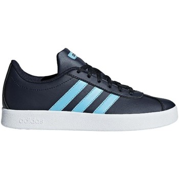Shoes Children Low top trainers adidas Originals VL Court 20 K Navy blue