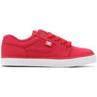 Shoes Children Low top trainers DC Shoes Tonik TX Red