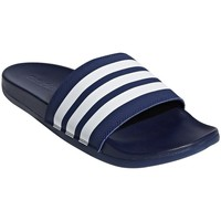 Shoes Men Tap-dancing adidas Originals Adilette Comfort White,Navy blue