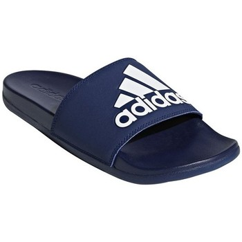 Shoes Men Tap-dancing adidas Originals Adilette Comfort Navy blue