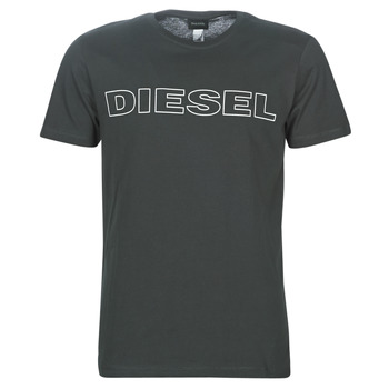 Clothing Men short-sleeved t-shirts Diesel UMLT-JAKE Grey