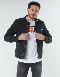 Clothing Men Jackets Diesel J-GLORY Black