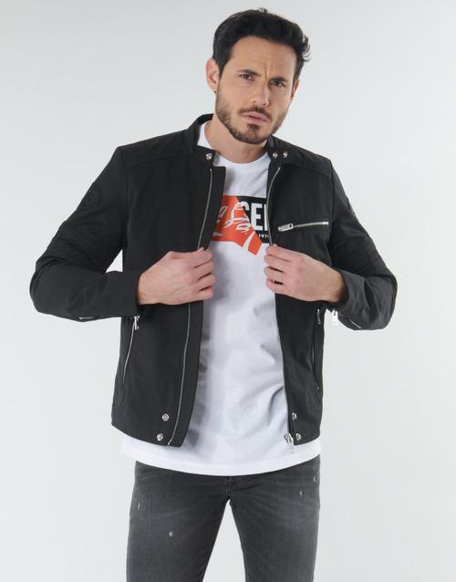 Clothing Men Jackets Diesel J-GLORY Black