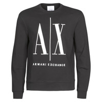 Clothing Men sweaters Armani Exchange HELIX Black