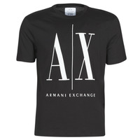Clothing Men Short-sleeved t-shirts Armani Exchange HULO Black