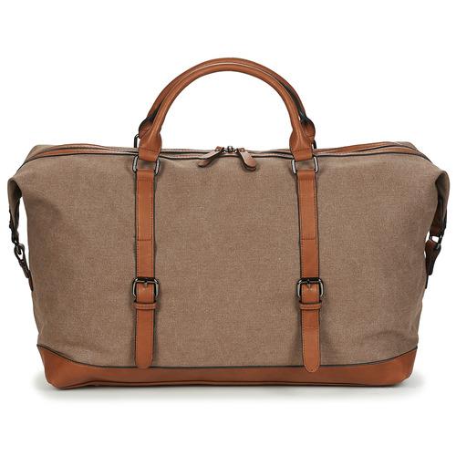 Bags Men Luggage Casual Attitude DAVITU Brown