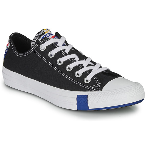 Shoes Low top trainers Converse CHUCK TAYLOR ALL STAR LOGO STACKED - OX  black