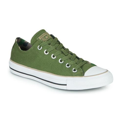 Shoes Low top trainers Converse CHUCK TAYLOR ALL STAR CAMO PATCH - OX Kaki