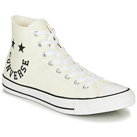 Shoes Men Hi top trainers Converse CHUCK TAYLOR ALL STAR CHUCK TAYLOR CHEERFUL White