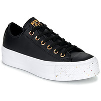 Shoes Women Low top trainers Converse CHUCK TAYLOR ALL STAR LIFT SPECKLED - OX  black