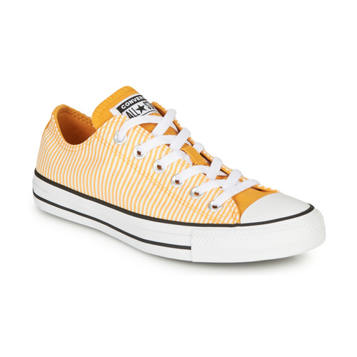 Shoes Women Low top trainers Converse CHUCK TAYLOR ALL STAR TWISTED PREP - OX Yellow / White