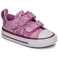 Shoes Girl Low top trainers Converse CHUCK TAYLOR ALL STAR 2V UNDERWATER PARTY Pink