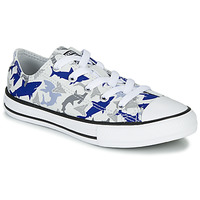 Shoes Boy Low top trainers Converse CHUCK TAYLOR ALL STAR SHARK BITE - OX White / Blue