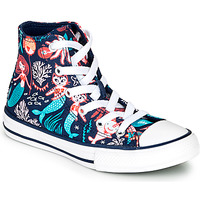 Shoes Girl Hi top trainers Converse Chuck Taylor All Star Underwater Party Blue