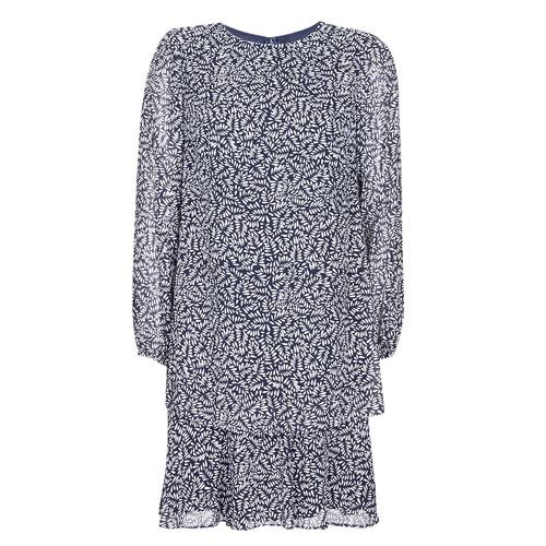 Clothing Women Short Dresses Lauren Ralph Lauren Alois Marine / White