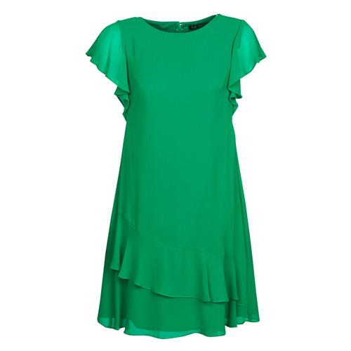 Clothing Women Short Dresses Lauren Ralph Lauren Arnould Green