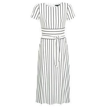 Clothing Women Long Dresses Lauren Ralph Lauren Arsène White / Marine